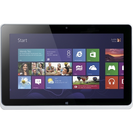 Acer ICONIA W510 Tablet 10 inch With Windows 8 - 64GB