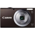 Canon PowerShot A2400 IS 16 Megapixel Compact Camera - Black - 3