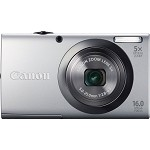 Canon PowerShot A2300 16 Megapixel Compact Camera - Silver - 2.7