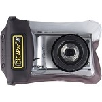DiCAPac Underwater Case for Camera - Black - Water Proof - Polyvinyl Chloride (PVC), Thermoplastic Polyurethane (TPU), Polycarbonate, ABS, Silicone