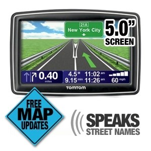 TomTom XXL 540M 5-Inch Widescreen Portable GPS Navigator (Lifetime on