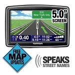 TomTom XXL 540M 5-Inch Widescreen Portable GPS Navigator (Lifetime Maps Edition)