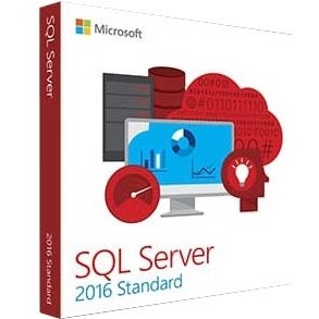 MICROSOFT SQL SERVER 2016 STANDARD EDITION - COMPLETE PRODUCT - 5 CLIENT