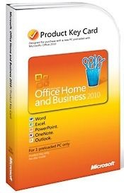 Microsoft Office 2010 Home and Business - PKC (Download)