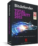 Bitdefender Total Security 2015 1 User 1 YR