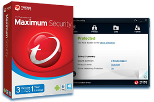 Trend Micro Maximum Security 2014 3PC