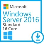 Microsoft Windows Server 2016 Standard - 16 cores